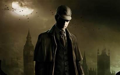 Detective Painting Sherlock Holmes Testament