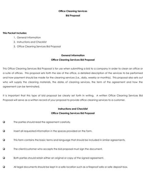 bid proposal templates  samples  write  proposals