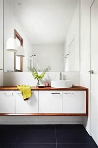 grand miroir contemporain un must pour la salle de bain With grand miroir salle de bain rectangulaire