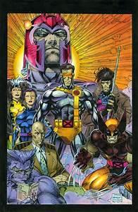 X-Men by Jim Lee Artist - Jim Lee Pinterest