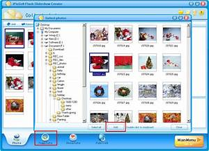 tutorials gtgt animation how to make christmas photo album With free flash slideshow templates