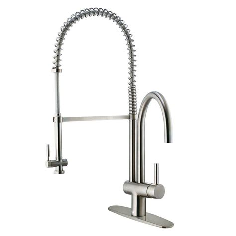 kitchen faucet deck plate vigo single handle pull sprayer kitchen faucet with
