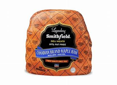 Ham Canadian Maple Brand Smithfield Deli Lunchmeat