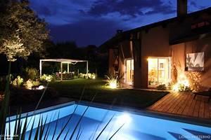 amenagement paysager d39une maison avec sa piscine kael With amenagement de piscine exterieur 0 details maison appartement gt amenagement exterieur