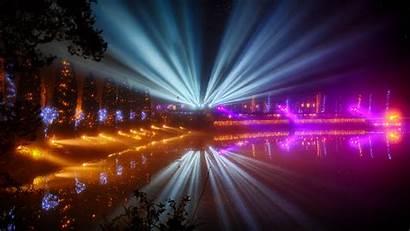 Festival Night Lights 4k Background Uhd Wallpapers