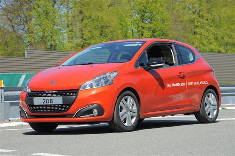 Peugeot 208 Diesel by Peugeot 208 With Bluehdi Diesel Engine Sets New