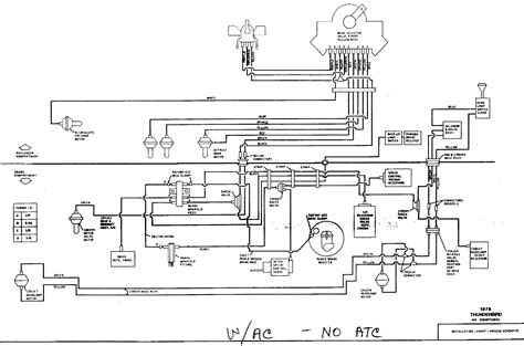 94 Thunderbird Fuse Diagram by 1965 Thunderbird Wiring Harness Diagram Auto Electrical