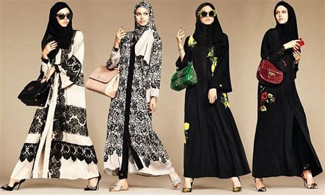 dolce gabanna launches hijab  abaya collection