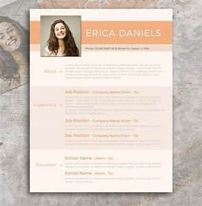free modern resume template free design resources With free modern resume