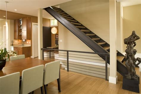 cs residence contemporary staircase indianapolis