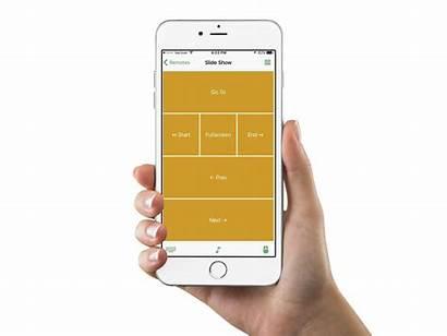 Presentation Phone Remote Slides Slideshow Allow Mouse