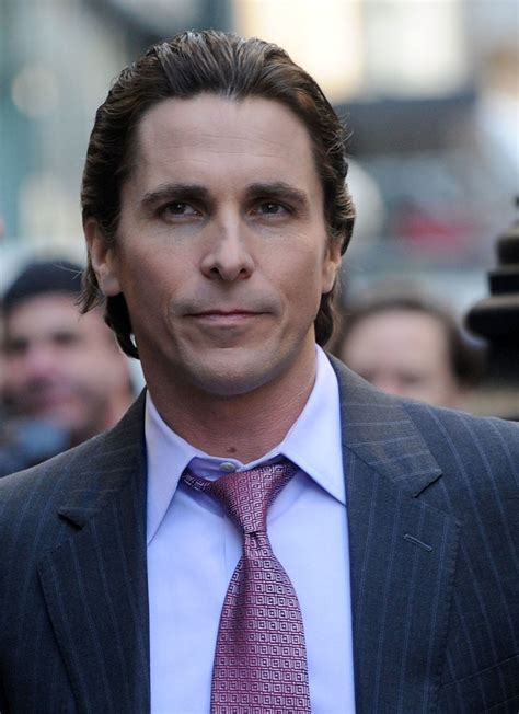Christian Bale Only Person Sick
