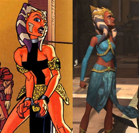 ahsoka slave princess revealed by the first magelord on deviantart