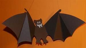 Gruselige Bastelideen Zu Halloween : basteln rund ums jahr fledermaus zu halloween ~ Lizthompson.info Haus und Dekorationen