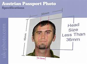 austrian passport photos available online or at our studio With requirements for passport size photo