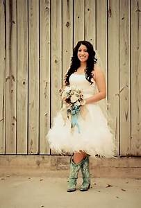 45 short country wedding dress perfect with cowboy boots With wedding dresses that go with cowboy boots