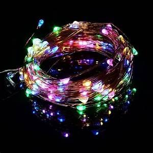 Led Lichterkette Draußen : 100er fb led lichterkette kupferdraht bunt timer au en ~ Watch28wear.com Haus und Dekorationen