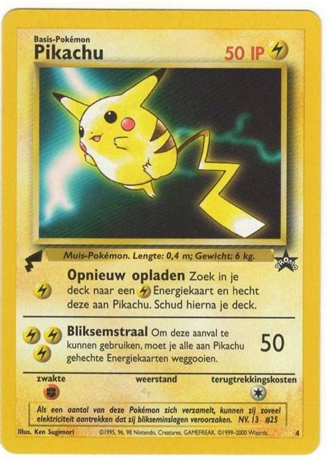 Promo Glenka Gold pikachu electric promo card gold black
