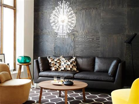 ikea    stained plywood wall   home