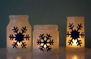 Teelichter Selber Basteln : windlichter schneeflocken weihnachten basteln selber machen diy anleitung dunkel 2 weihnachten ~ Eleganceandgraceweddings.com Haus und Dekorationen