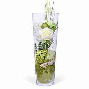 Pfingstrosen In Der Vase : deko vase pfingstrose wei 40cm und blumenbote jetzt bestellen bei valentins ~ Buech-reservation.com Haus und Dekorationen