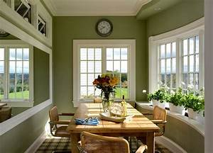 Olive Green Walls Kitchen Traditional With Crown Moldings
