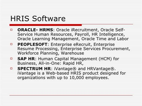 Sap Hr Time Management Resume by Human Resource Information Systems
