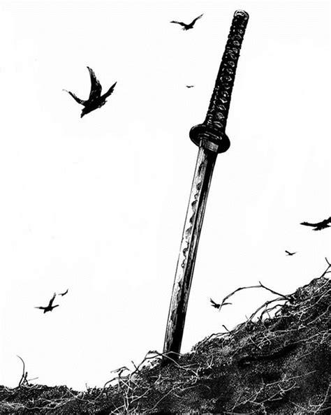 28+ Samurai Swords Tattoos Designs And Stencils