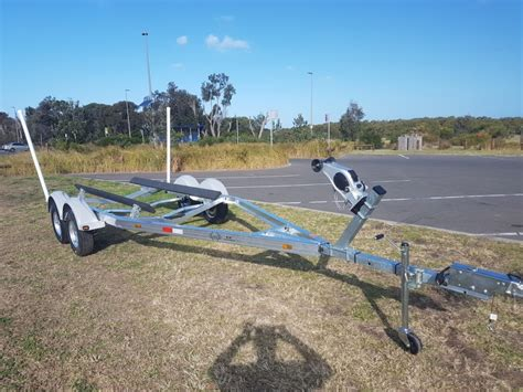 Tandem Aluminum Boat Trailer by 6 2m Tandem Aluminum Boat Trailer Koof Australia