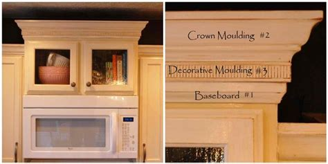 crown moulding for kitchen cabinets 1000 images about diy cabinet refacing on 8514