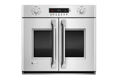 monogram   professional french door electronic convection single wall oven