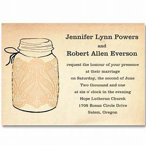 6 best images of free printable mason jars for a wedding With free printable wedding invitations mason jars
