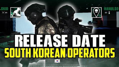 siege korian rainbow six siege south operators release date year