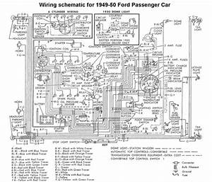 1953 Ford Car Wiring Diagram