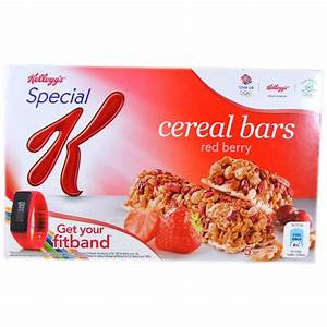 Kelloggs Special K Cereal Bars Red Berry 5 x 215g ...