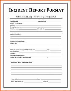 6 incident report template microsoft word progress report With it report template for word