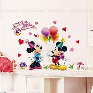 mickey mouse and friends wall sticker With enchanting minnie mouse decals for walls