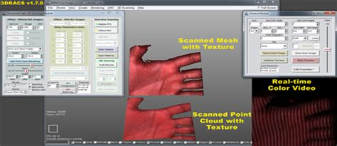 structured light scanning tutorial real3d think of design with dimensions