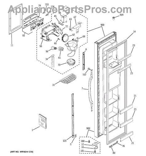 ge wrx dispenser lever appliancepartsproscom