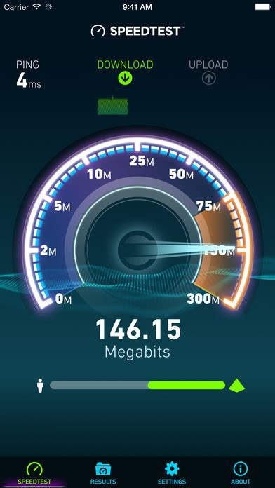 speed test iphone speedtest by ookla on the app store