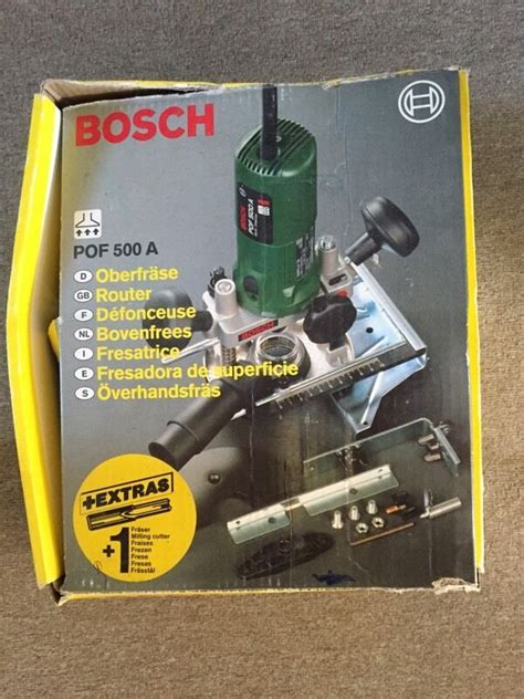 bosch router pof 500a in brighton east sussex gumtree