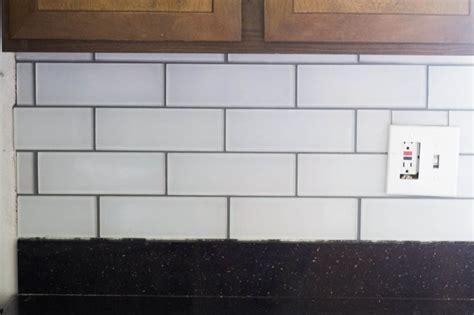 subway tile pictures tips and tricks for diy subway tile backsplash installation