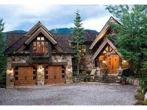 Mountain Lodge Style House Plans  Mountain Lodge Style