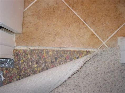 tile to carpet transition tack carpet to tile transition how to info ceramic tile