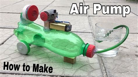 how to make a small water how to make a mini air compressor powerful air pump using plastic bottle tutorial youtube