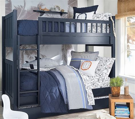 camp twin  twin bunk bed pottery barn kids