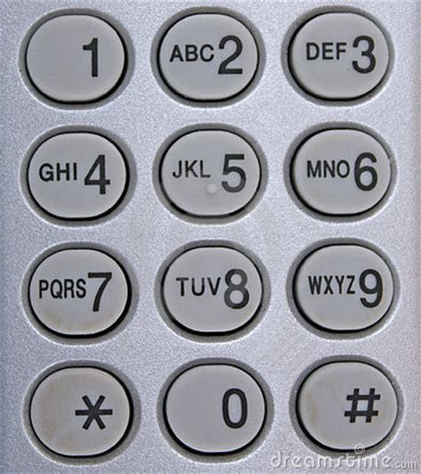 phone number pad phone number pad up royalty free stock photography
