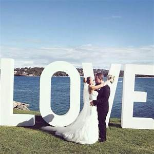 29 best images about the love sign big giant love for Giant letters for wedding