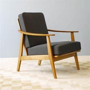 Fauteuil Design Scandinave : fauteuil vintage danois design scandinave la maison retro ~ Melissatoandfro.com Idées de Décoration