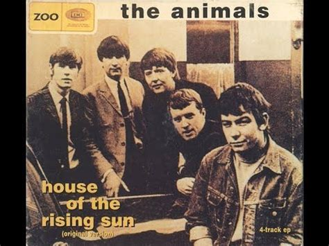 The Animals  House Of The Rising Sun (full Ep) Youtube